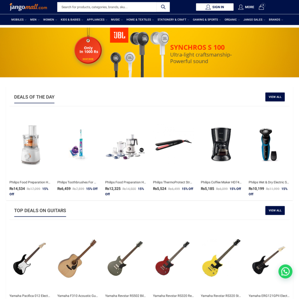 Jangomall - Best online store in Pakistan with 100% original products